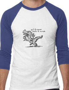 Evil Dinosaur Wants to Munch T-Shirt