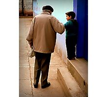 Grandfather in Spanish is Abuelo Photographic Print
