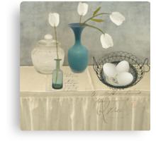 The Blue Vase Canvas Print