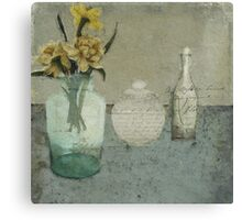 Spring on my table Canvas Print