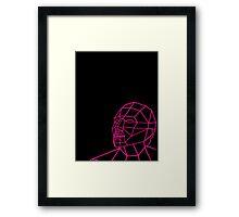 Facial Geometry Framed Print