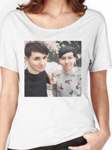 Japhan Dan and Phil - ALL PRODUCTS AVAILABLE Women's Relaxed Fit T-Shirt