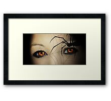 Black Widow Framed Print