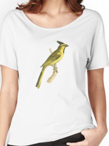 Crested Bunting Bird Illustration by William Swainson Women's Relaxed Fit T-Shirt
