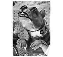 Bulldog Figurehead Poster
