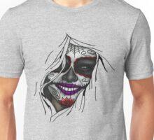 The Sugar Skull Shining Unisex T-Shirt