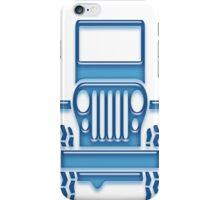 Blue Jeep iphone Case iPhone Case/Skin