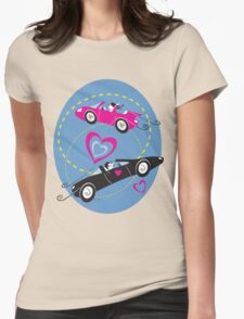 Race for Love Tee Womens Fitted T-Shirt
