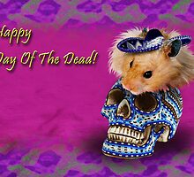 Happy Day of the Dead Hamster by jkartlife