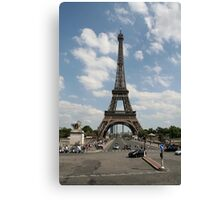 Eiffel Tower during the day Canvas Print