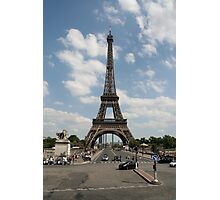 Eiffel Tower during the day Photographic Print