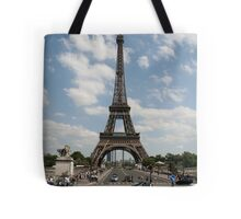 Eiffel Tower during the day Tote Bag