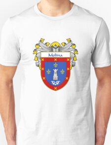 Molina Coat of Arms/Family Crest T-Shirt
