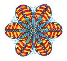 Butterfly Mandala Print Photographic Print