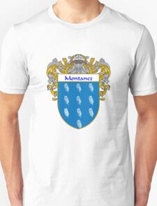 Montanez Coat of Arms/Family Crest T-Shirt