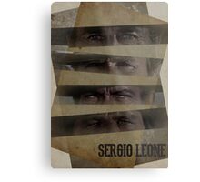 Sergio Leone's buddies Metal Print