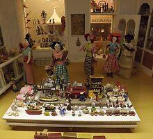 Model Toy Store, Miniature Toys, Museum of International Folk Art, Santa Fe, New Mexico  by lenspiro