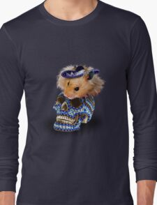 Day of the Dead Hamster Long Sleeve T-Shirt