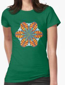 Butterfly Mandala T-Shirt Womens Fitted T-Shirt