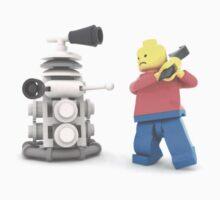 Lego warrior vs Dalek Kids Clothes