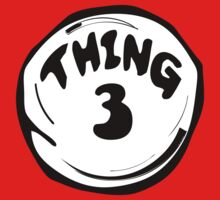 Thing 3 T - Shirts & Hoodies by mike desolunk