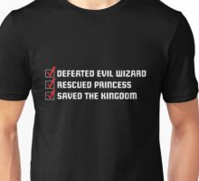 Gamer Checklist Unisex T-Shirt