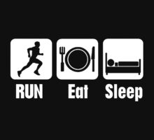 RUN Eat Sleep by funkybreak