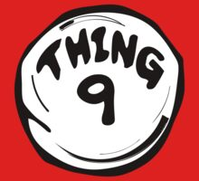Thing 9 T-Shirts & Hoodies by mike desolunk