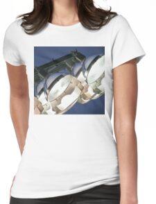 Football Stadium Lights Womens Fitted T-Shirt