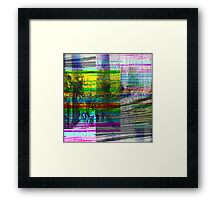 In those moments when merely walking is a travail. Framed Print