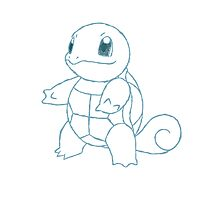 Squirtle Photographic Print