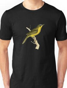 Grey-crowned Tanager Bird Illustration by William Swainson Unisex T-Shirt