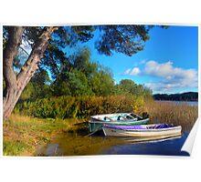 Loch Ard Boats Poster