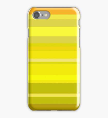 Yellow design iPhone Case/Skin