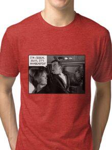 (I'm cereal guys it's) ManBearPig Tri-blend T-Shirt