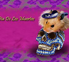 Dia De Los Muertos Day Of The Dead Hamster by jkartlife
