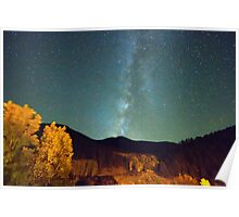 Autumn Milky Way Poster