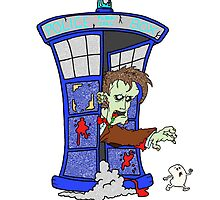 Zombie Doctor Who by Skree