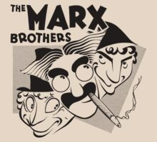 Marx Brothers t-shirt by ziruc