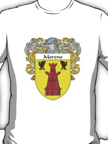 Moreno Coat of Arms/Family Crest T-Shirt