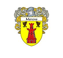 Moreno Coat of Arms/Family Crest Photographic Print