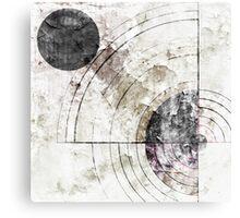 Orbital Decay Canvas Print