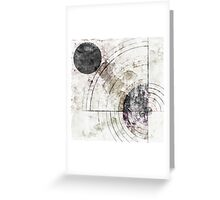 Orbital Decay Greeting Card