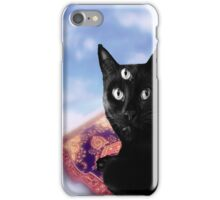 Flying Third Eye Kitty iPhone Case/Skin