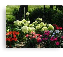 New Jersey Garden Canvas Print