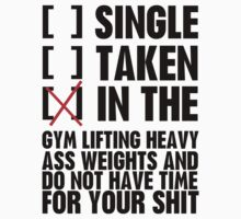 Relationship status GYM by funkybreak