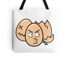 One punch egg man, funny egg head Tote Bag