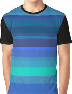 Blue design Graphic T-Shirt