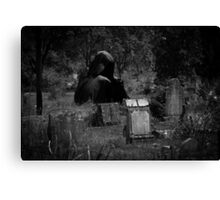Grim Reaper Tally Canvas Print