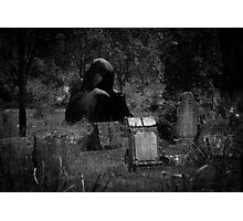 Grim Reaper Tally Photographic Print